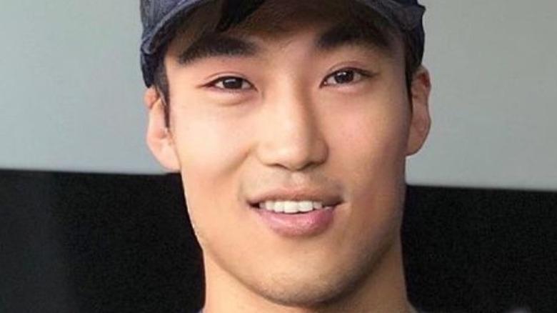Bao Wu smiling