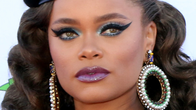 Andra Day on the red carpet