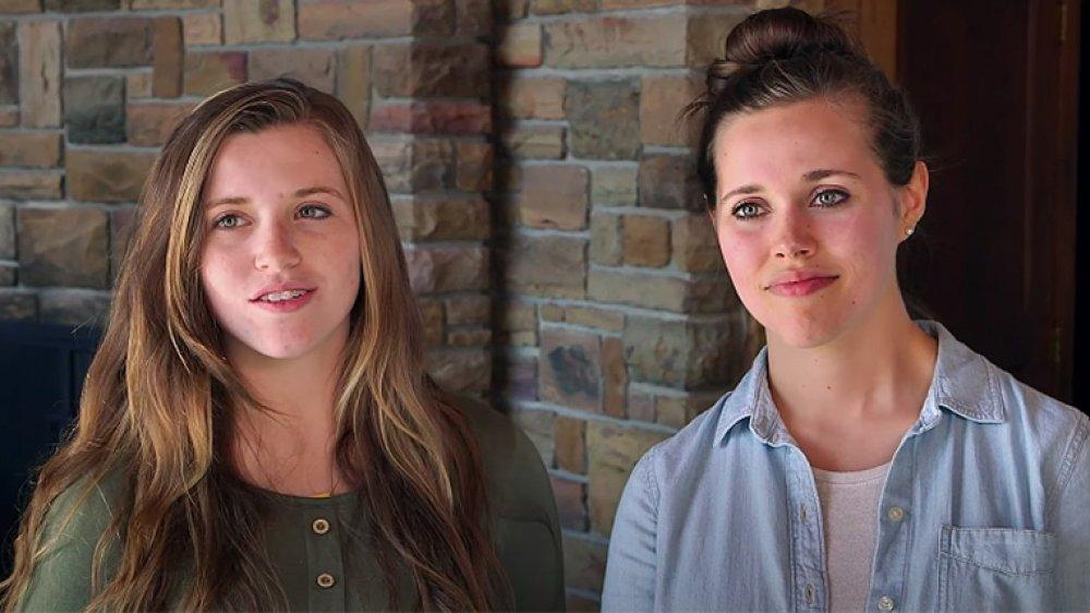 Joy-Anna and Jessa Duggar
