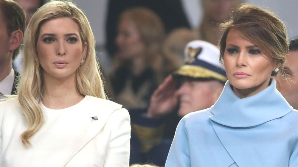 Ivanka Trump and Melania Trump