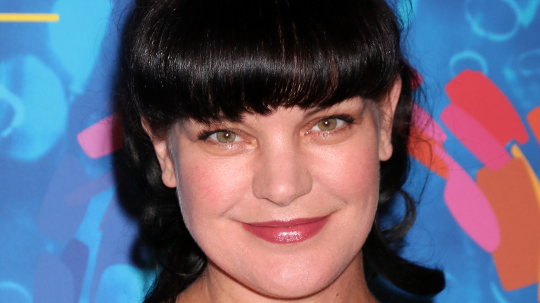 Pauley Perrette grinning