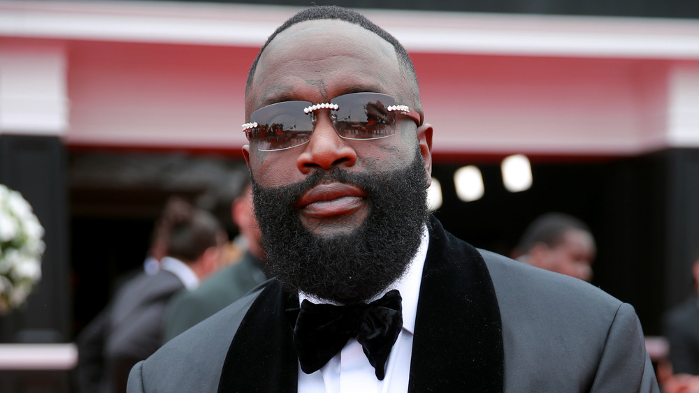 Rick Ross on the red carpet