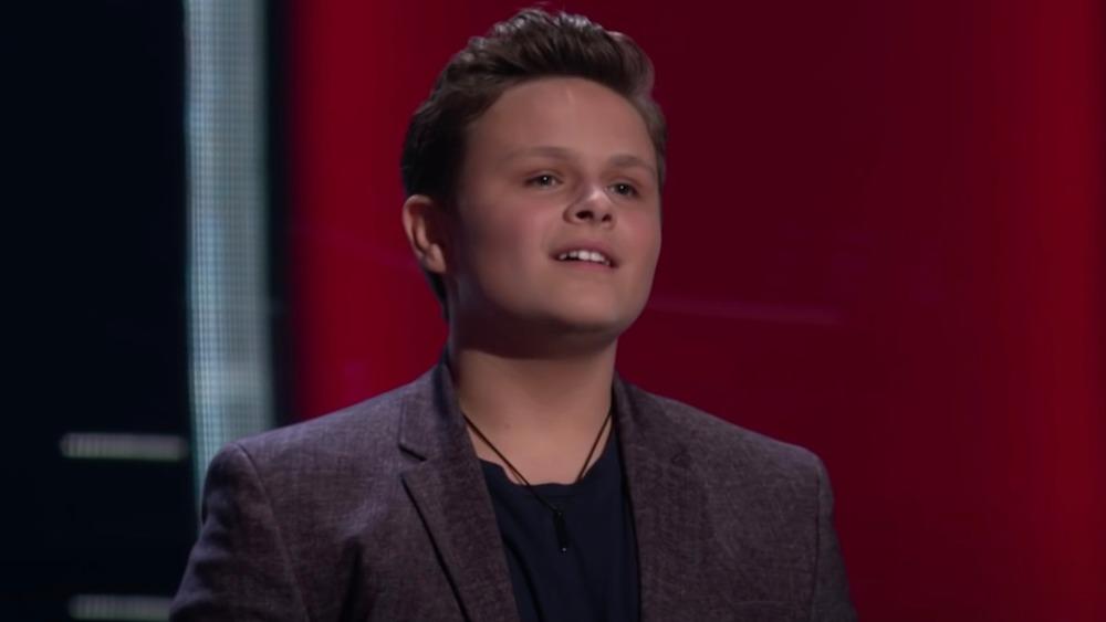 Carter Rubin on The Voice