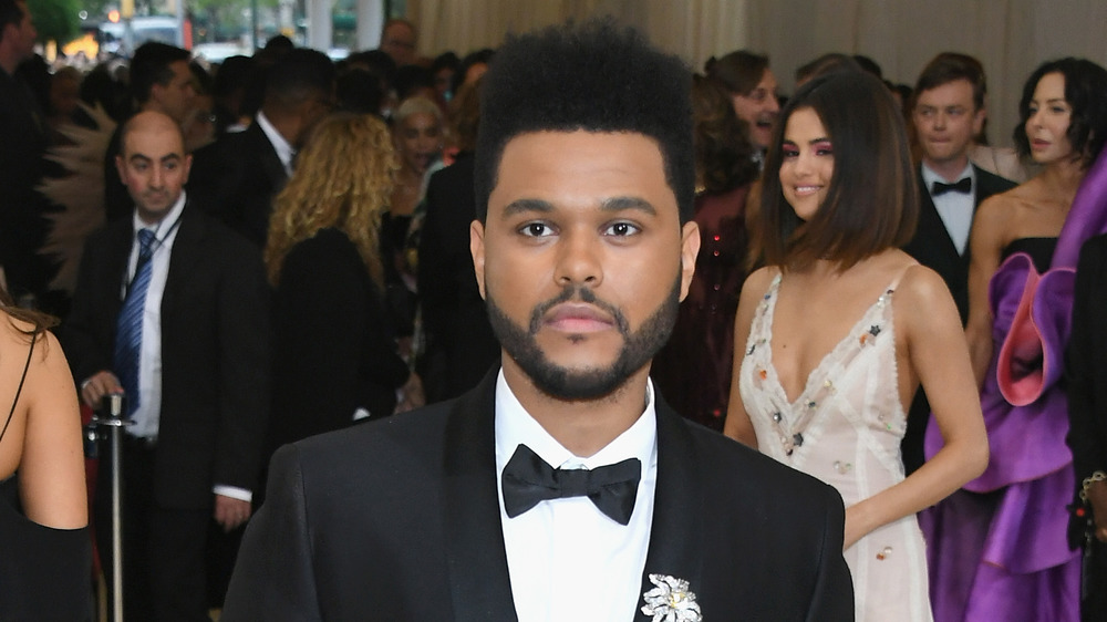 The Weeknd on the red carpet