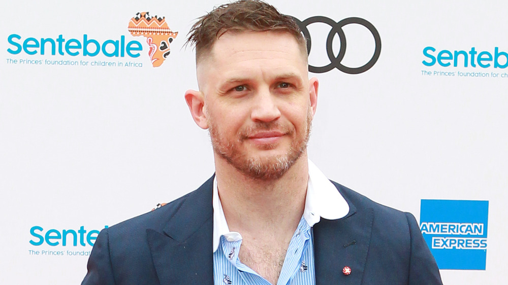 Tom Hardy attends the Audi Sentebale concert in 2019