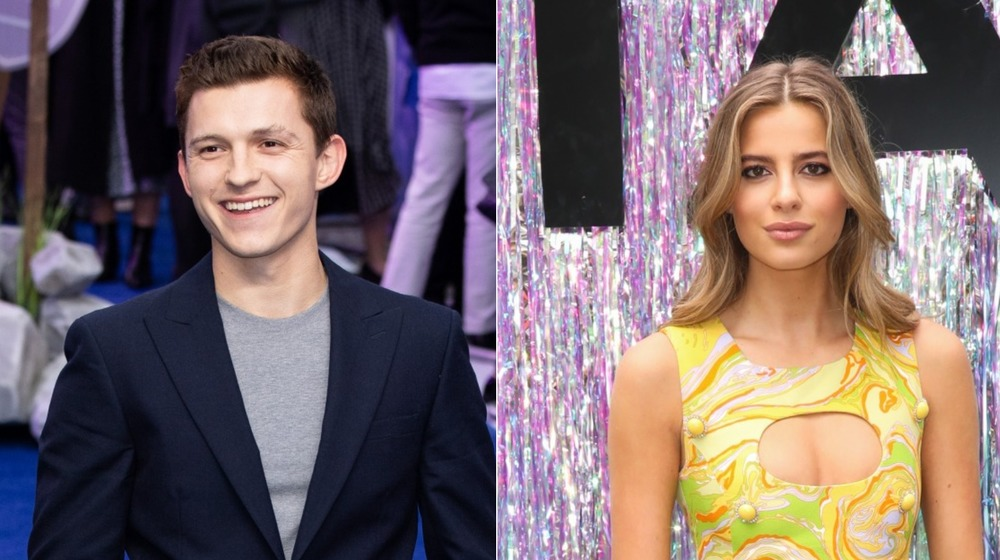 Tom Holland and Nadia Parkes relationship