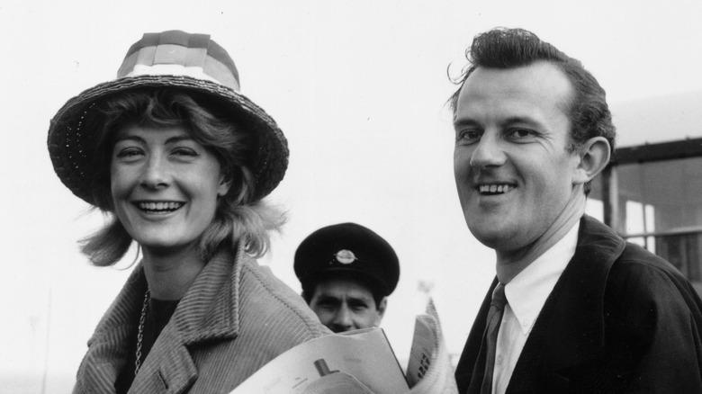Vanessa Redgrave and Tony Richardson, honeymoon