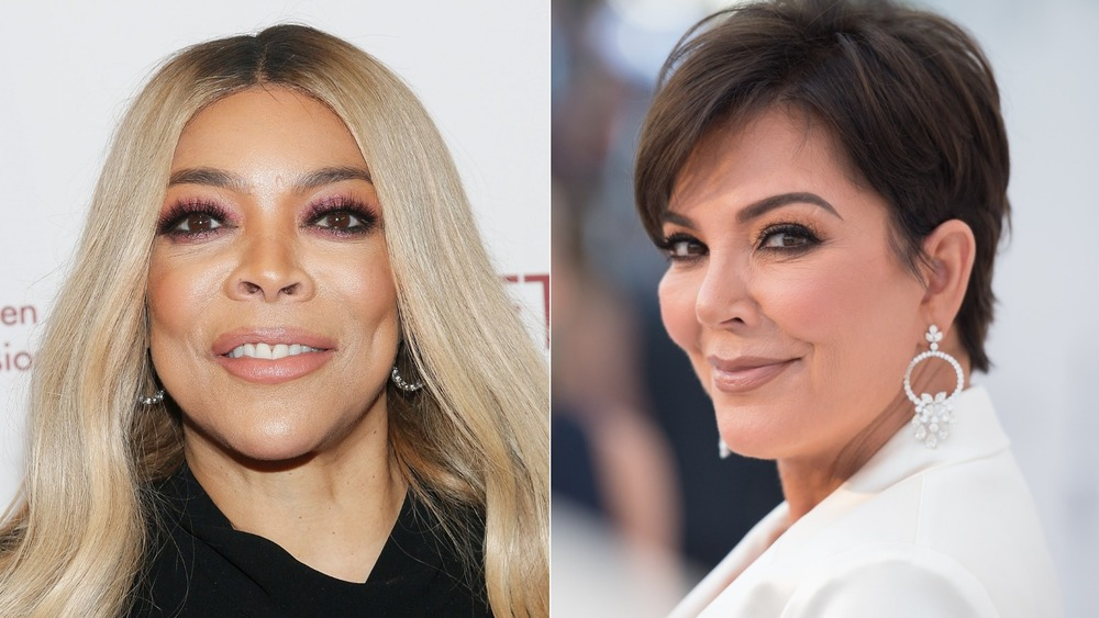 Wendy Williams and Kris Jenner