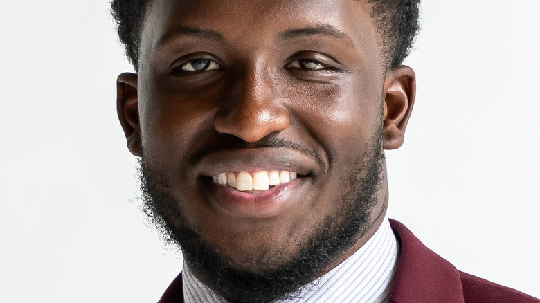 Xavius Washington of 'Married at First Sight: Unmatchables' smiling
