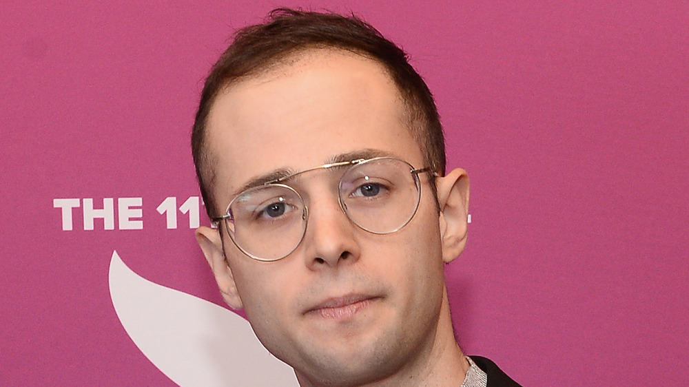 Zach Kornfeld, Streamy Awards red carpet