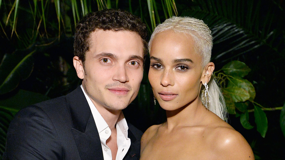 Zoe Kravitz and Karl Glusman attending a Hollywood event
