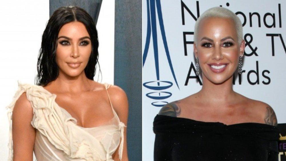 Kim Kardashian and Amber Rose