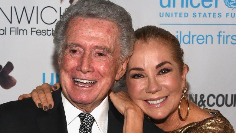 Regis Philbin and Kathie Lee