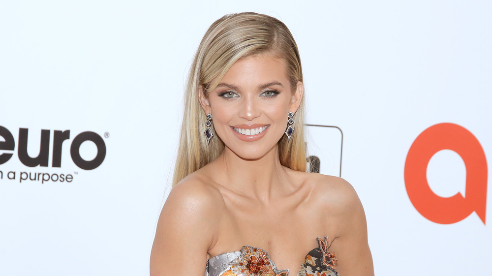AnnaLynne McCord at the 28th Annual Elton John AIDS Foundation Viewing Party