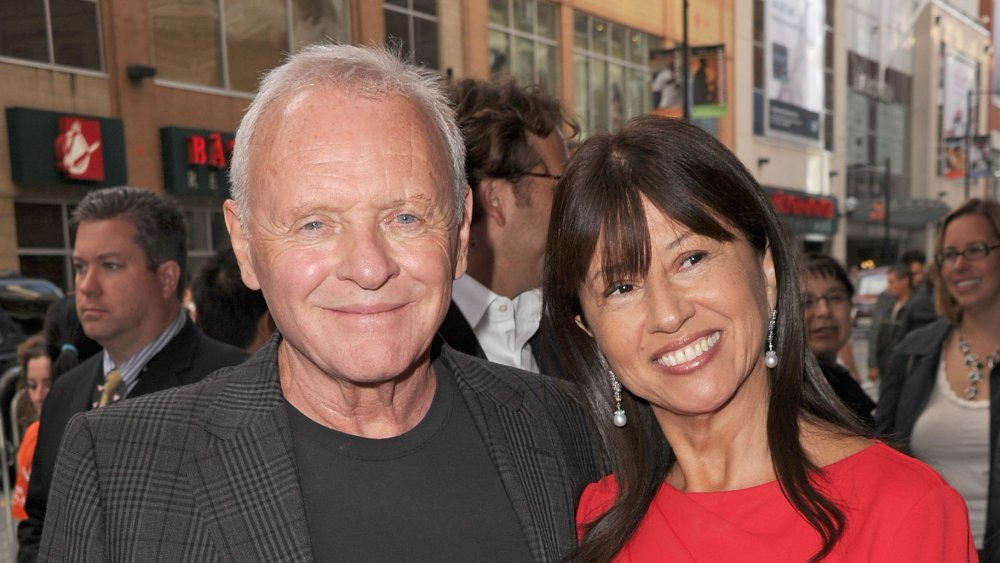 Anthony Hopkins and wife Stella Arroyave