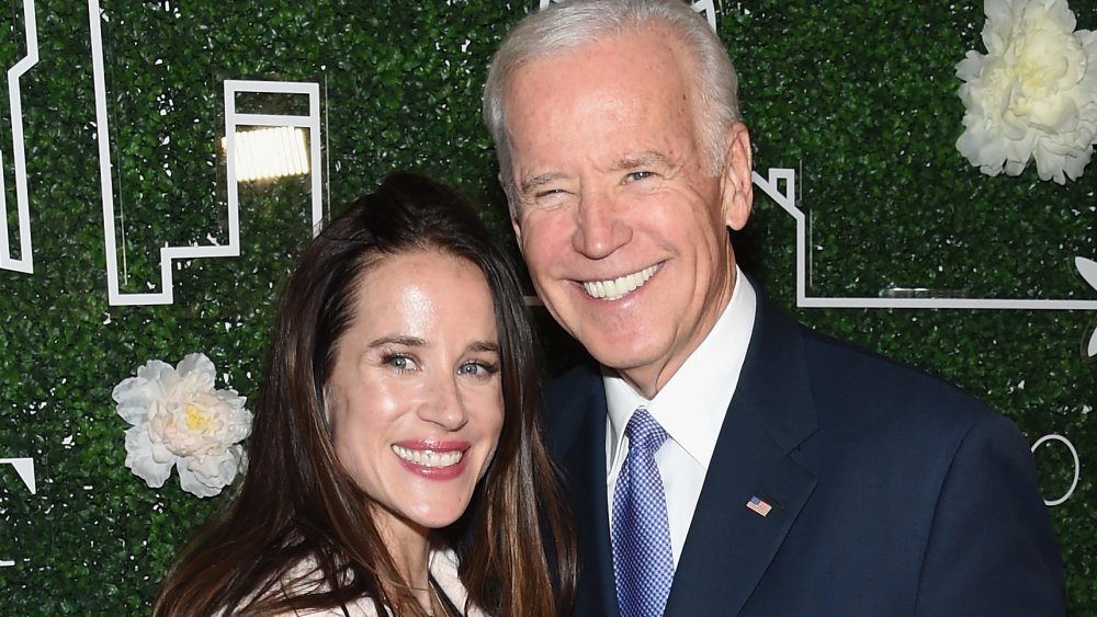 Ashley Biden and Joe Biden