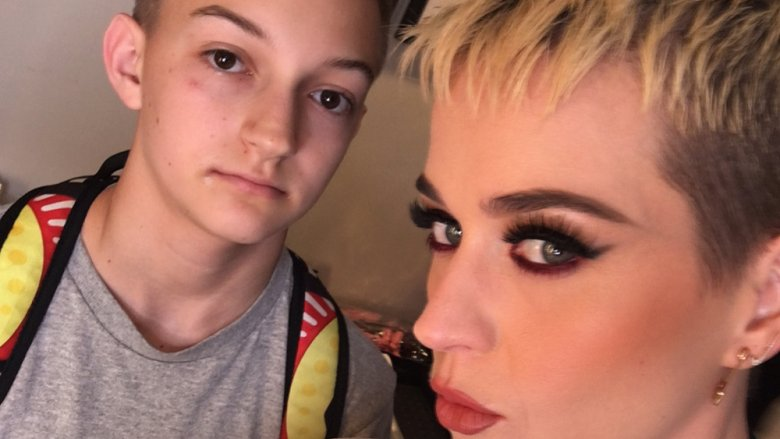 Russell Horning The Backpack Kid Katy Perry