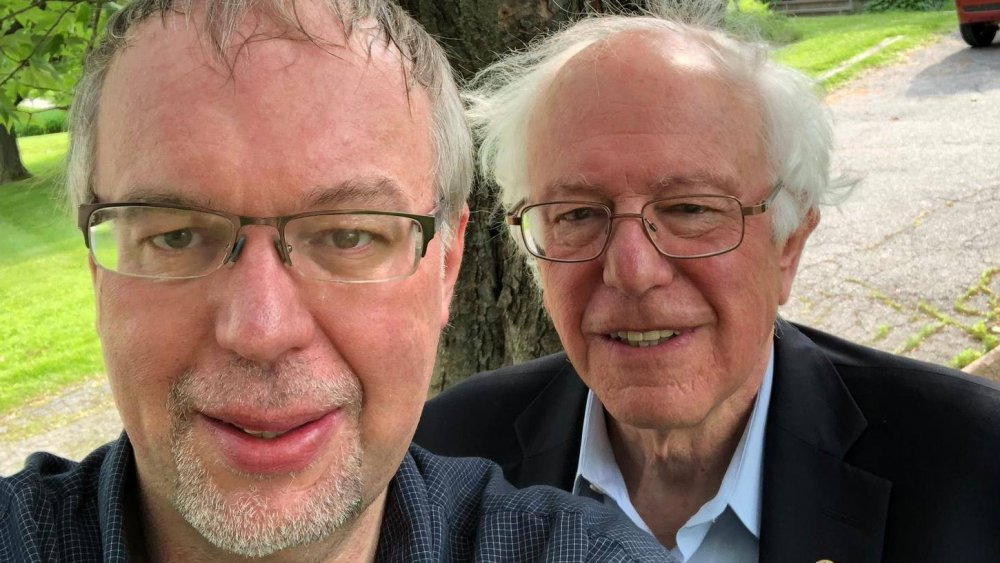 Levi and Bernie Sanders