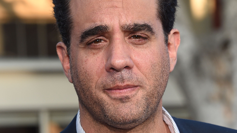 Bobby Cannavale with a serious expression