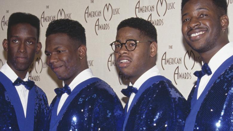 Boyz II Men on the red carpet