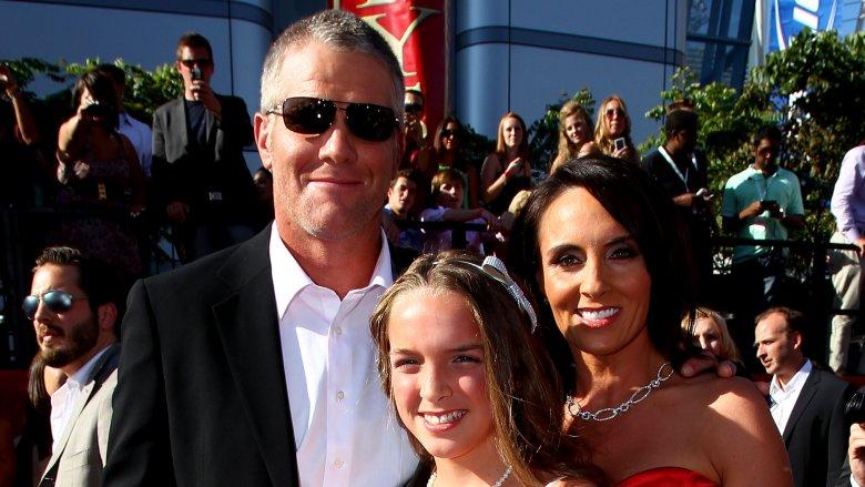 Brett Favre Breleigh Favre Deanna Favre