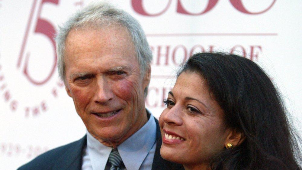 Clint Eastwood and Dina Ruiz