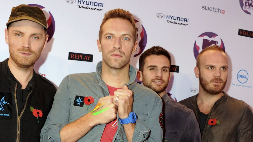 Jonny Buckland, Chris Martin, Guy Berryman, Will Champion