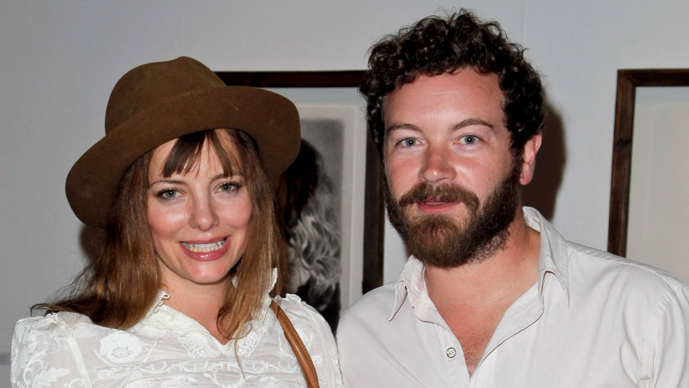 """Bijou Phillips and Danny Masterson attend the Mercedes Helnwein 'The Trouble With Dreams"""" gallery reception at Merry Karnowsky Gallery"""