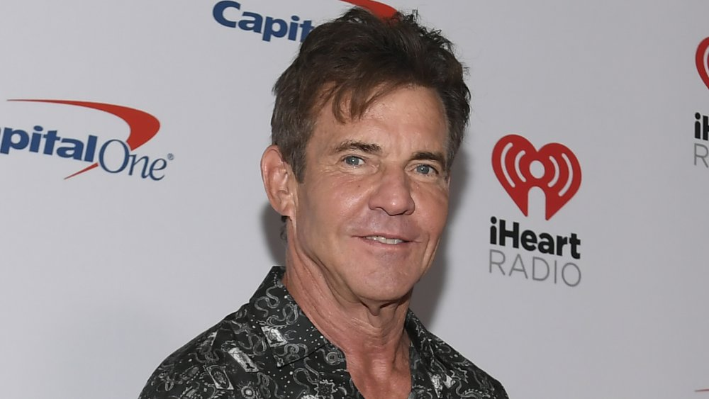 Actor Dennis Quaid attends the 2019 iHeartRadio Music Festival and Daytime Stage at T-Mobile Arena