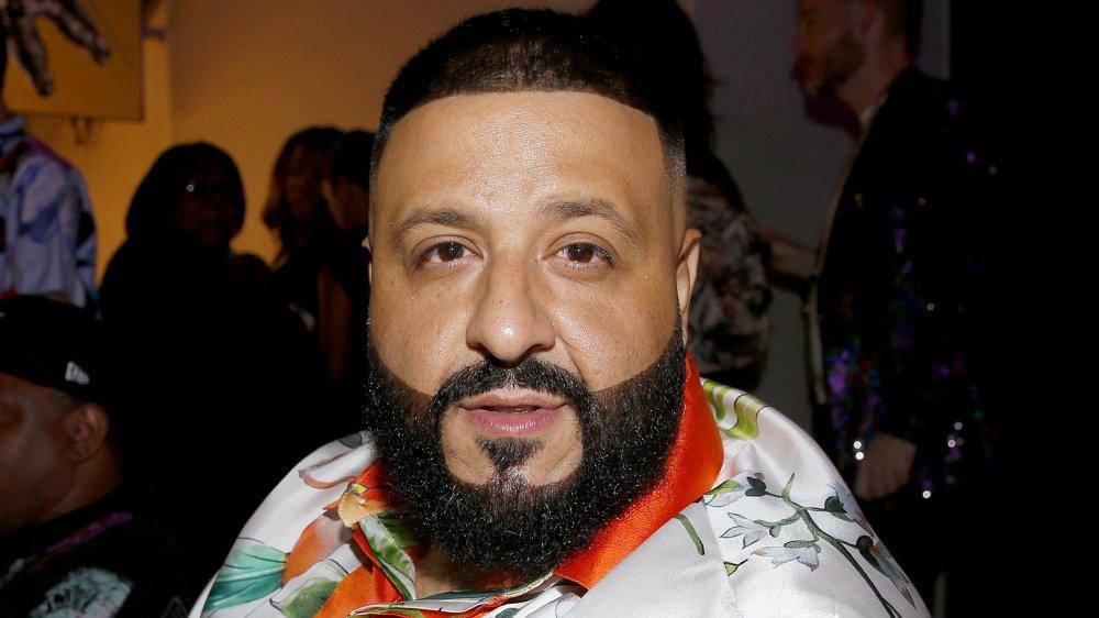 DJ Khaled looking directly at camera