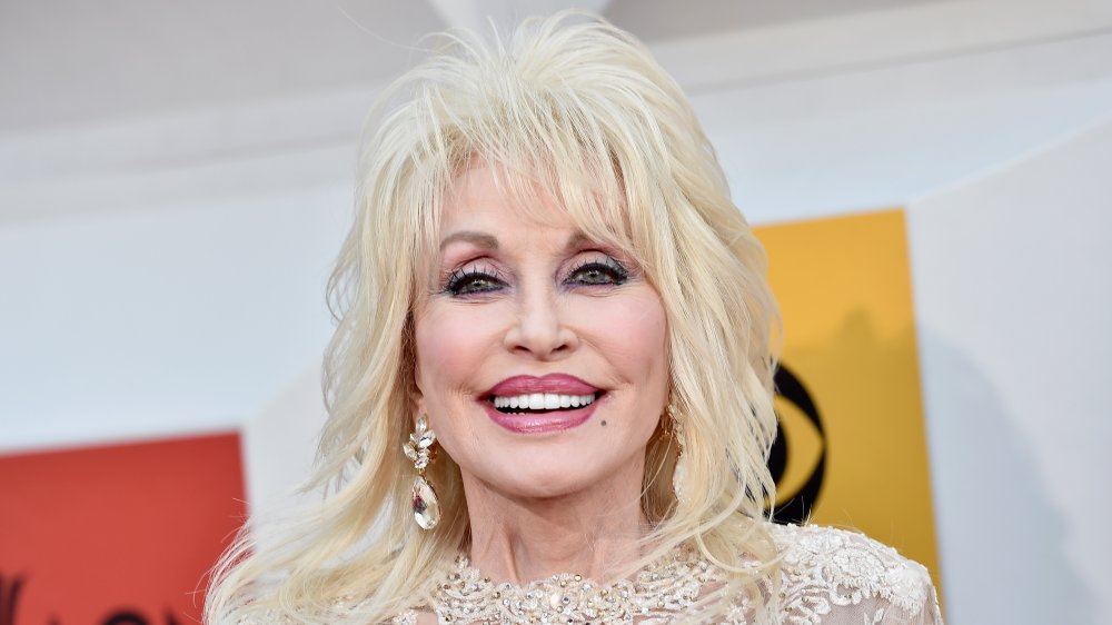 Dolly Parton at the 51st Academy of Country Music Awards