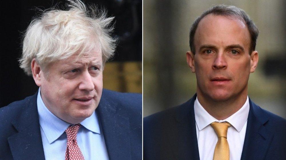 Boris Johnson, Dominic Raab