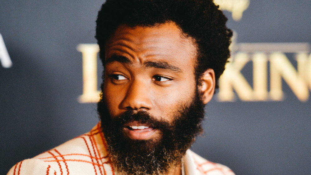 Donald Glover at a premeire