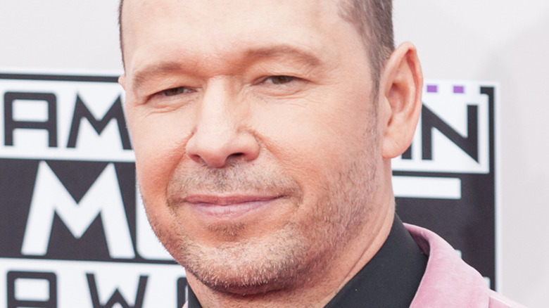 Donnie Wahlberg at the 2013 American Music Awards