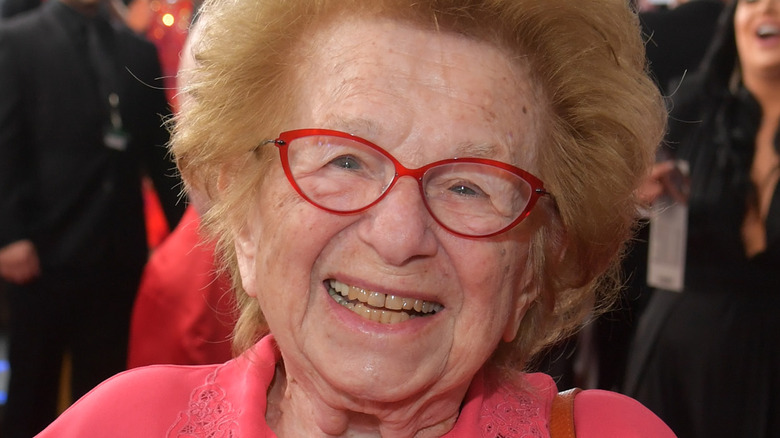 Dr Ruth smiling