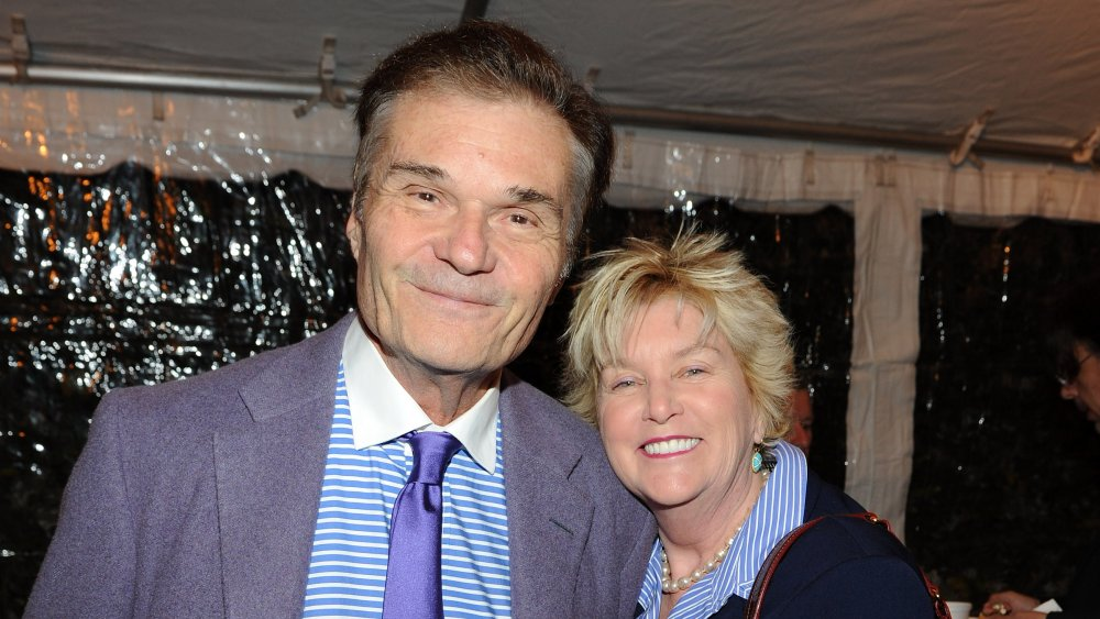 Fred Willard and his late wife Mary