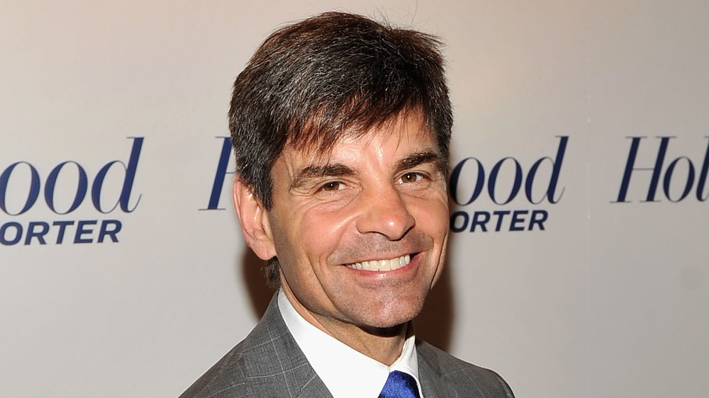 George Stephanopoulos smiling