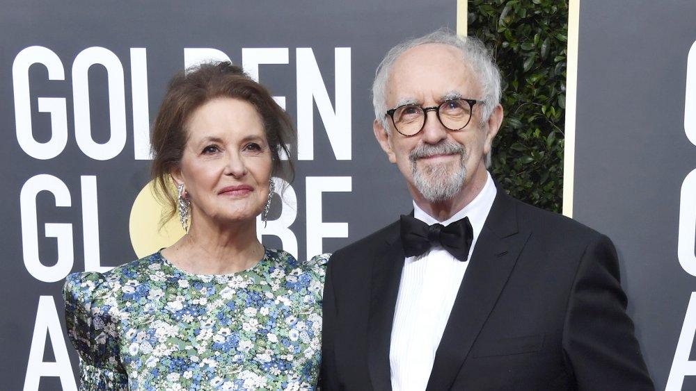 Jonathan Pryce and wife Kate Fahy