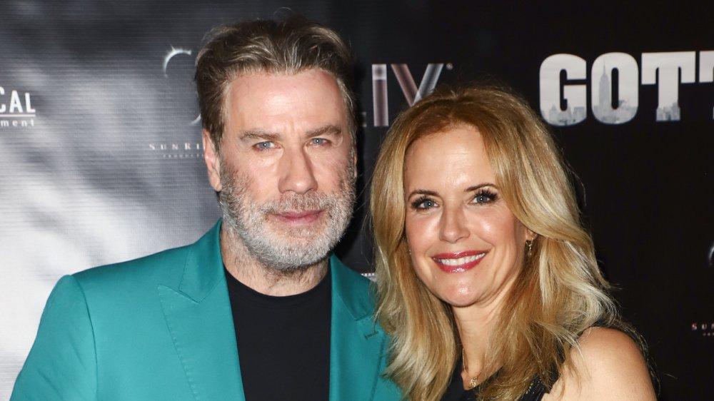"John Travolta And Kelly Preston Celebrate Their New Film ""Gotti"" at Fontainebleau Hotel"