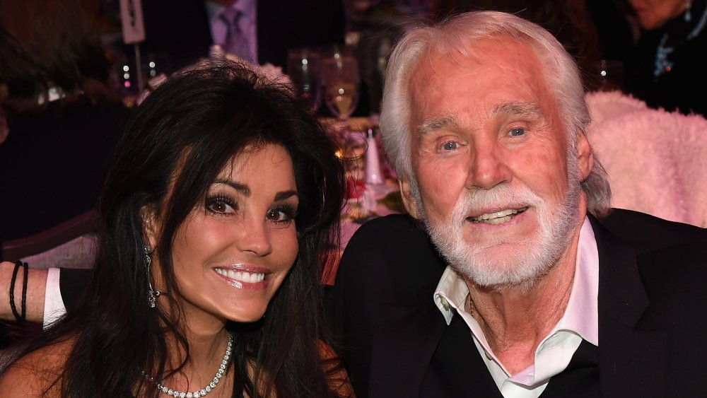 Wanda Miller and Kenny Rogers