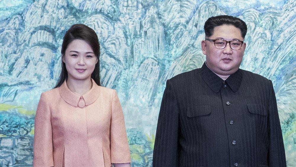 Kim Jong Un and Ri Sol Ju