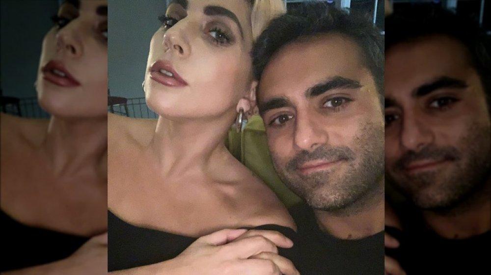 Michael Polansky and Lady Gaga