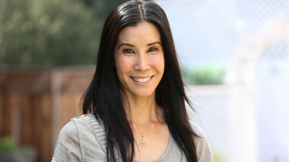 Lisa Ling smiling outside