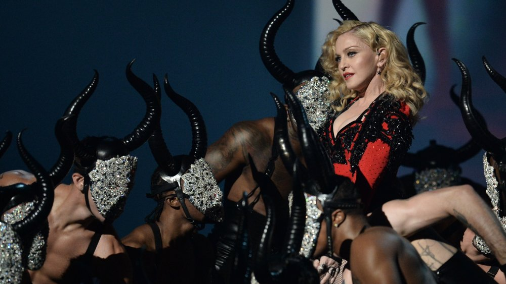 Madonna with dancers