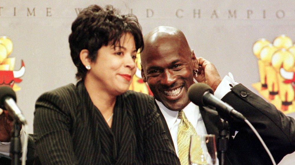 Juanita Jordan, Michael Jordan