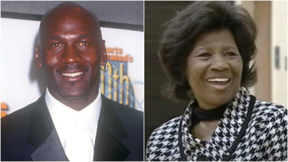 Michael Jordan and Deloris Jordan