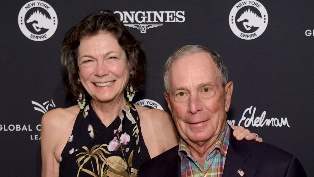 Mike Bloomberg and Diana Taylor