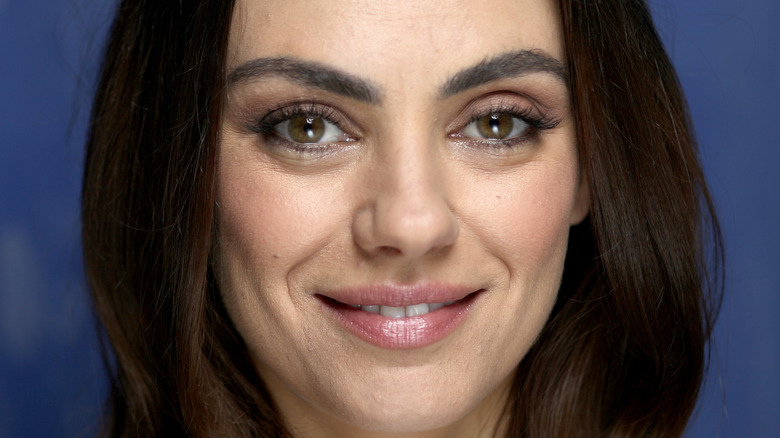 Mila Kunis smiling