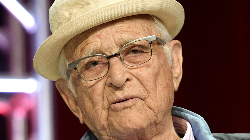 Norman Lear speaking at an event