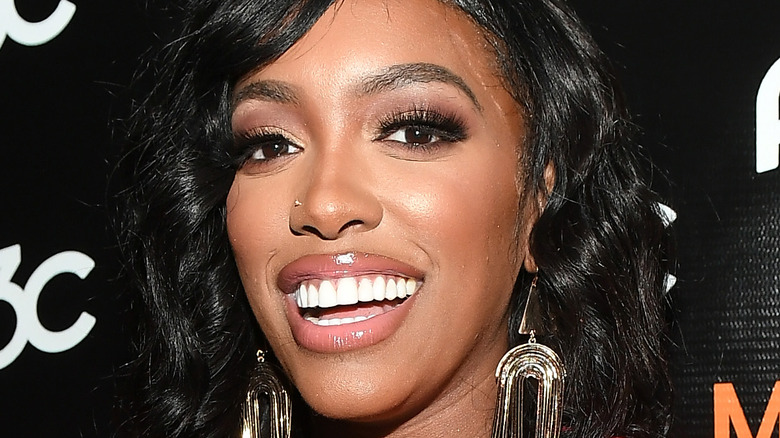 Porsha Williams smiling at an event